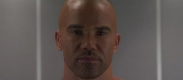 Shemar Moore as Derek Morgan on 'Criminal Minds' - (Image Credit: Entertainment Tonight/YouTube)