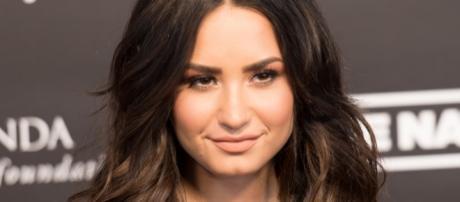 Demi Lovato at the Global Citizen Festival in Hamburg (Image via Wikimedia Commons)