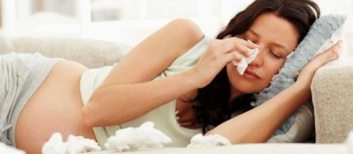 A mulher grávida fica mais sensível e isso afeta o equilíbrio emocional e físico