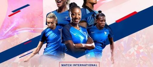 Affiche France-Angleterre Football Féminin © FFF