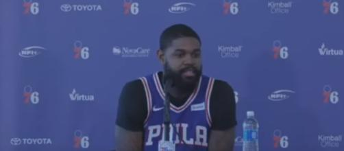 Amir Johnson - Full Press Conference - 2017 Sixers Media Day | Sep 25, 2017 | NBA Season[ Image - Ximo Pierto | YouTube]