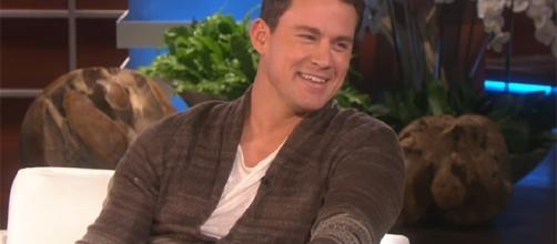 """Channing Tatum has discontinued developing """"Forgive Me Leonard Peacock"""" with The Weinstein Company. (Image Credit: TheEllenShow/YouTube)"""