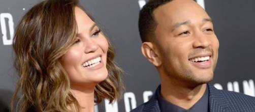 Chrissy Teigen and John Legend's daughter Luna will soon be a big sister! [Image: Nicki Swift/YouTube]