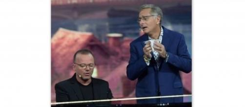 Gigi D'Alessio ospite da Paolo Bonolis