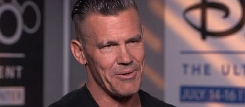 "Josh Brolin opens up about playing Cable in ""Deadpool 2."" (Good Morning America/YouTube)"