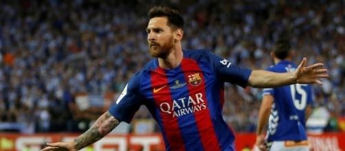 Lionel Messi cien goles Europa