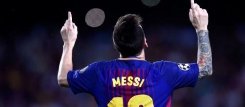 Lionel Messi foi um dos que levou negação quando criança