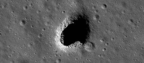 Marius Hills Skylight [image courtesy NASA]