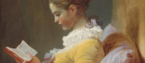 """Young Girl Reading"" by Jean-Honoré Fragonard at the National Gallery of Art in Washington, DC [Image Credit: Wikipedia]"