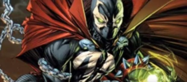 Fans and game pundits speculate that Spawn might be the surprise DLC character for 'Injustice 2.' [Image via History BTW/YouTube]