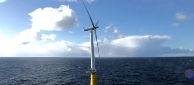 Full story of Hywind Scotland – world's first floating wind farm from YouTube/Statoil