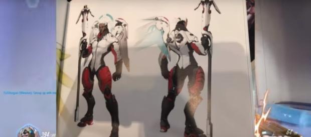 Overwatch Mercy Concept Art Blizzard Entertainment (Image Credit: RejectedShotgun - Overwatch News/YouTube)
