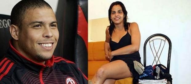 Ronaldo Fenômeno e o travesti Andréia