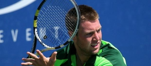 The victory snapped Jack Sock's five-match losing streak -- robbiesaurus via WikiCommons