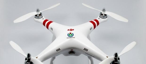WMCH Drone, a DJI Phantom 1 (Image credit – Clement Bucco-Lechat – Wikimedia Commons)