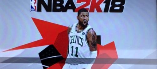 2K has resolved the 'NBA 2K18' Kyrie Irving cover issue but fans are furious. Image Credit: Chris Smoove/YouTube