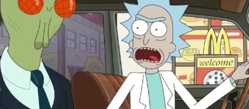 A joke from Season 3 of 'Rick and Morty' prompts McDonald's to bring back Szechuan sauce {Image via Adult Swim]
