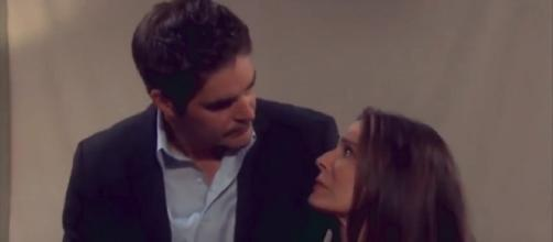 Days of our Lives Hope and Rafe. (Image via YouTube screengrab/NBC)