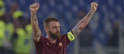 De Rossi centrocampista Roma infortunato