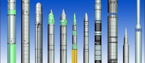ICBM (Intercontinental ballistic missile) Comparison by MDA-file/Wikimedia Commons