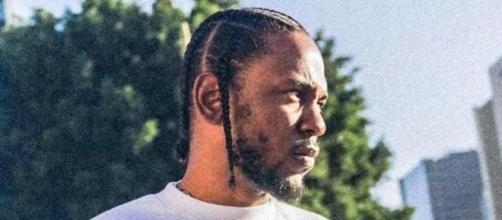 "Lamar shooting promo material for ""DAMN."" [Image: Rena3xdxd via Wikimedia Commons]"