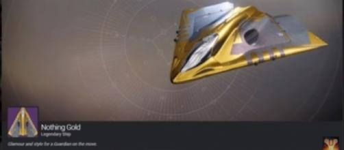 Nothing Gold from 'Destiny 2.' - (Image Credit: MoreConsole/YouTube)