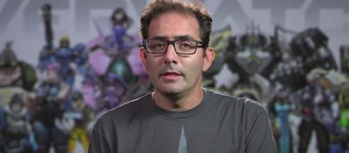 'Overwatch' game developer Jeff Kaplan. (image source: YouTube/PlayOverwatch)