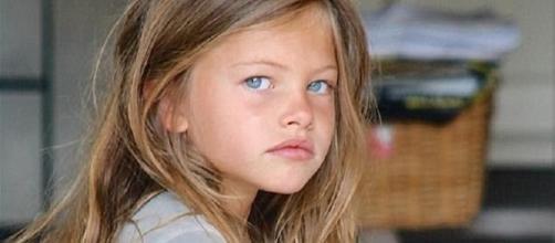 Thylane Blondeau ficou famosa em criança