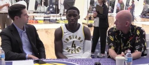 Victor Oladipo of the Indiana Pacers (via YouTube - Sportstalk screencap)