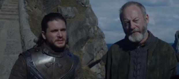 Game of Thrones, Jon Snow, Ser Davos- (YouTube/Doran Martell)