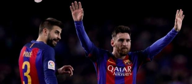 Gerard Pique did something very clever for Lionel Messi's free ... - givemesport.com