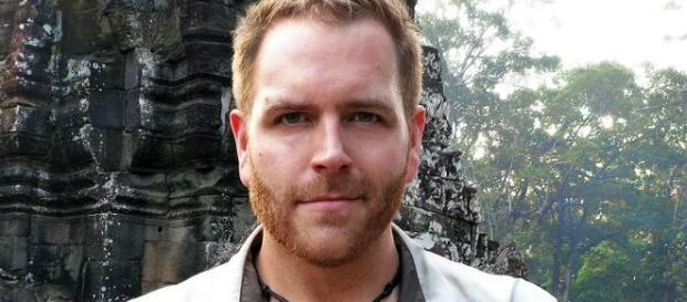 Josh Gates from Travel Channel series Expedition Unknown. Photo via Travel Channel, used with permission.