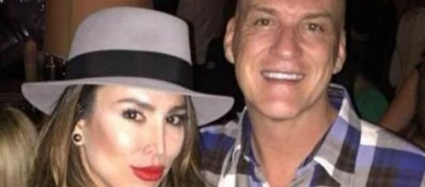 Kelly Dodd and husband Michael in happier times. [Image Credit: Photo via Facebook]