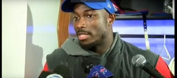 LeSean McCoy teases media about not believing in Bills. Photo Credit: WKBW Tv/YouTube