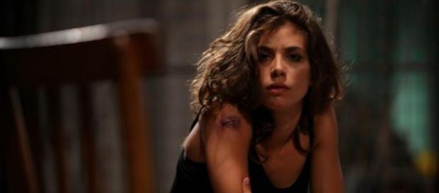Rosy Abate - La Serie, con Giulia Michelini - immagine tratta da kataweb.it