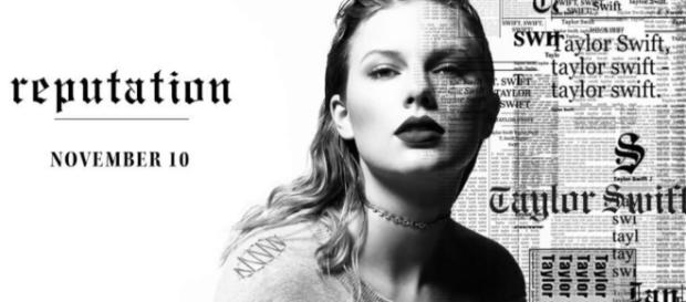 Taylor Swift's new album. [Image via Kajal/YouTube screencap]