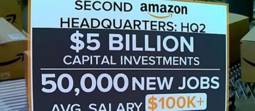 Amazon has contest to get the winning city as second headquarters [Image: CBS This Morning/YouTube]