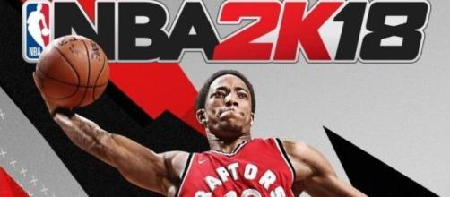 DeMar DeRozan pour la version canadienne du jeu (2k - Visual concept).