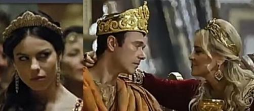Em 'O Rico e Lázaro': Nitócris acaba com o reinado de Nebuzaradã e Sammu-Ramat