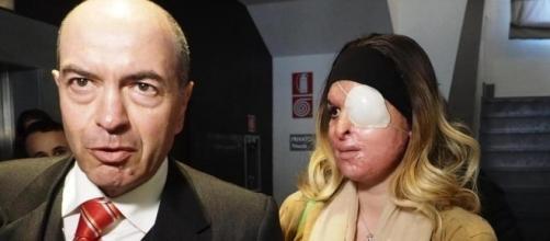 Gessica Notaro ha appreso da casa la sentenza del Gup del Tribunale di Rimini