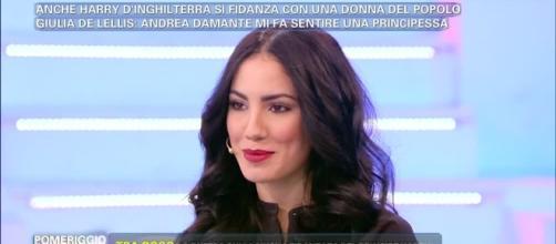Giulia De Lellis sotto choc per le minacce