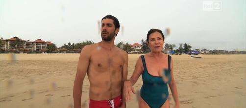 Grande Fratello VIP: Corinne Clery e il suo fidanzato - spetteguless.it