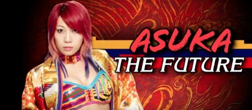 Asuka is set to make her main roster debut. [Image Credit:WWE Music/YouTube]