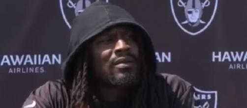 In seven games with the Raiders, Marshawn Lynch has only 266 rushing yards (Image Credit: Ultralight Sports/YouTube)