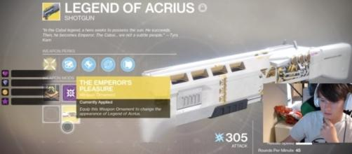 One of the rewards in 'Destiny 2's' Prestige Raid - YouTube/Sweatcicle