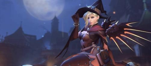'Overwatch' hero Mercy stars as the villain in the latest comic. (image source: GodDani/YouTube)