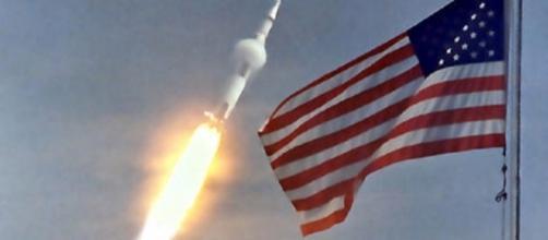 The launch of Apollo 11 [image courtesy of NASA]
