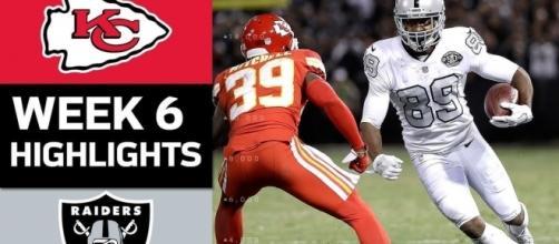The Raiders stun the Chiefs - NFL/YouTube