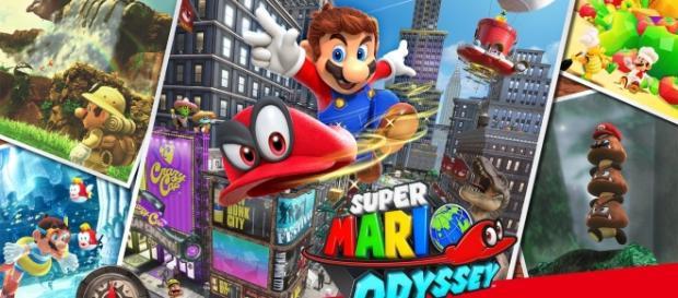 Au royaume de Super Mario Odyssey .