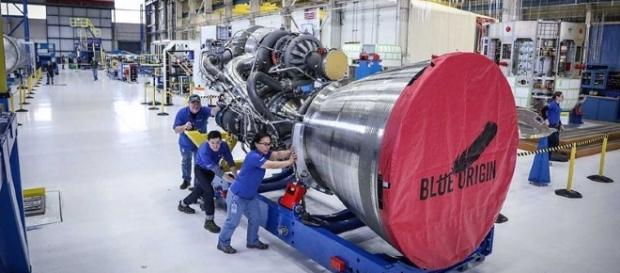 BE-4 engine [Image Credit: NASA/Wikimedia Commons]